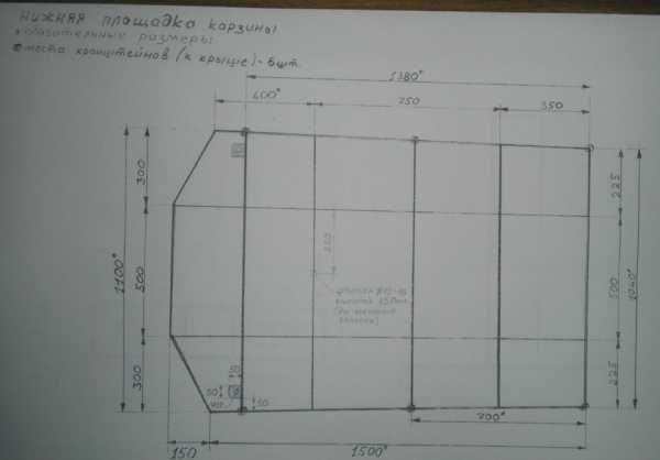 Жесткий потолок на ниву 2121 своими руками чертежи