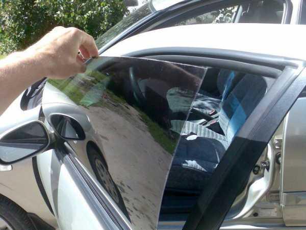 Тонировка авто своими руками порядок работ фото