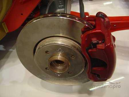 Заменить барабанные тормоза на дисковые тормоза на